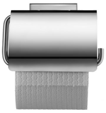 Duravit Karree Chrome Paper Holder with Cover - 0099551000